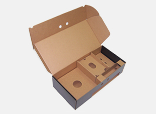 Corrugated Die Cut Box with Insert